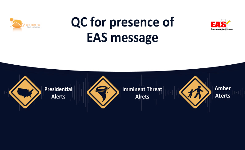 QC for Presence of Emergency Alert System (EAS) Message