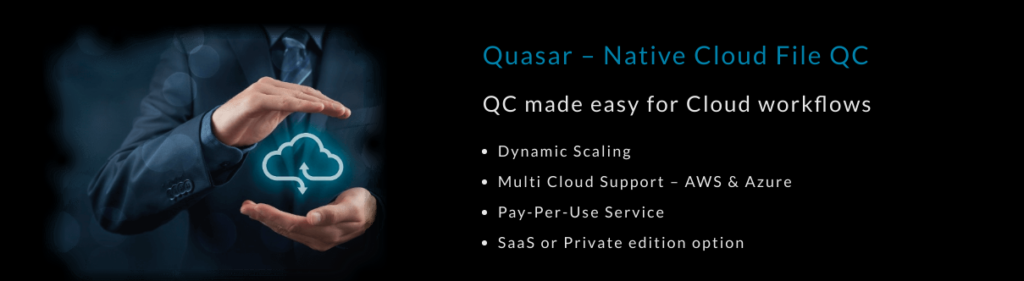 Quasar – Native Cloud File QC Service