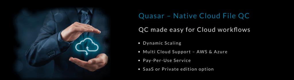 Quasar – Native Cloud File QC Service